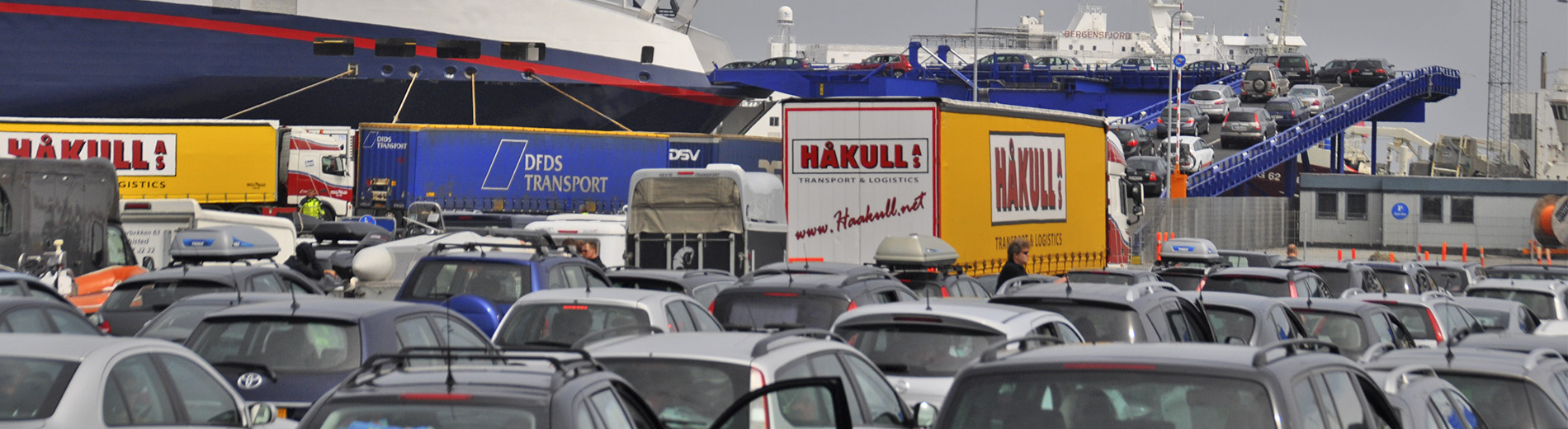 Traffic at the Port of Hirtshals